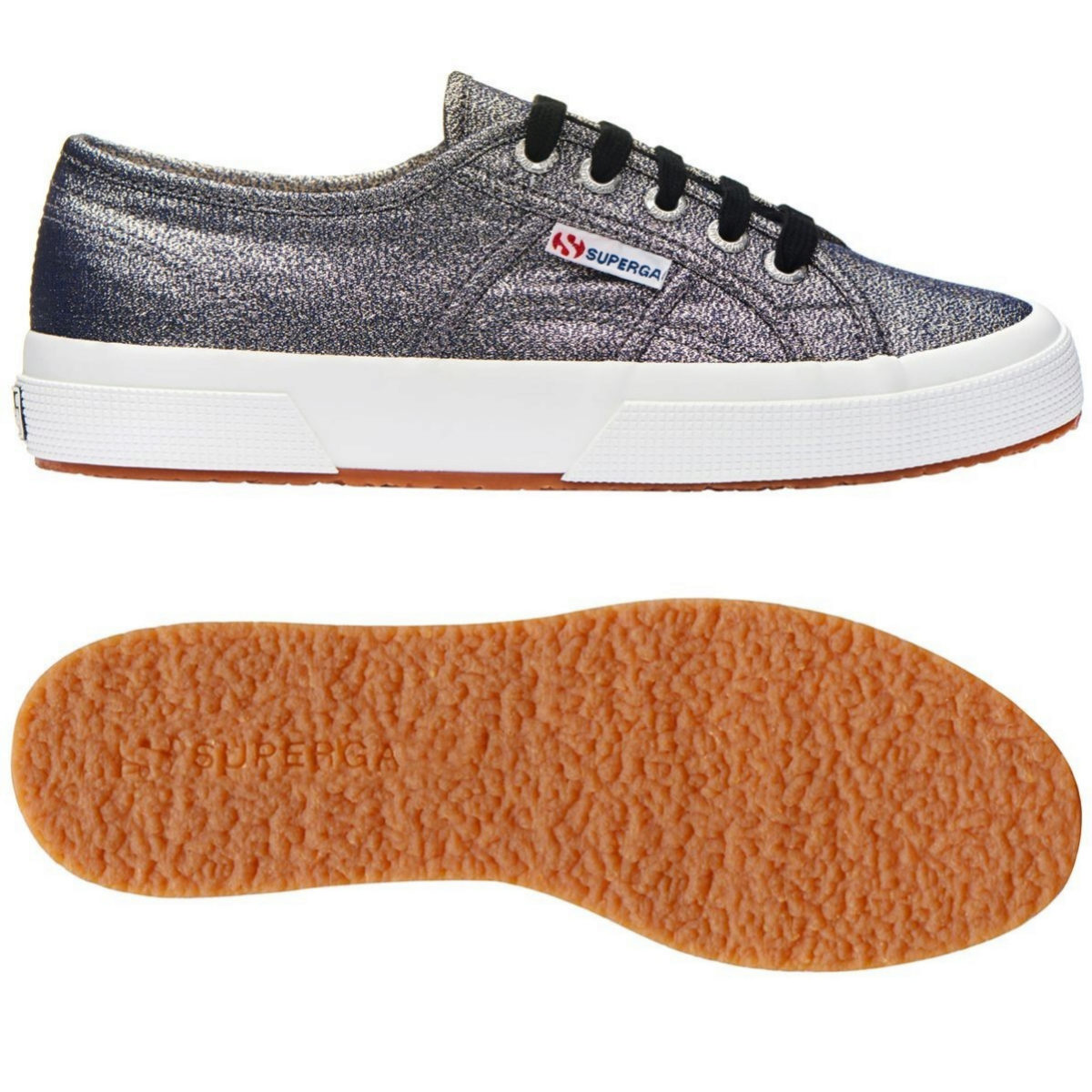 Sneakers metálicas de Superga