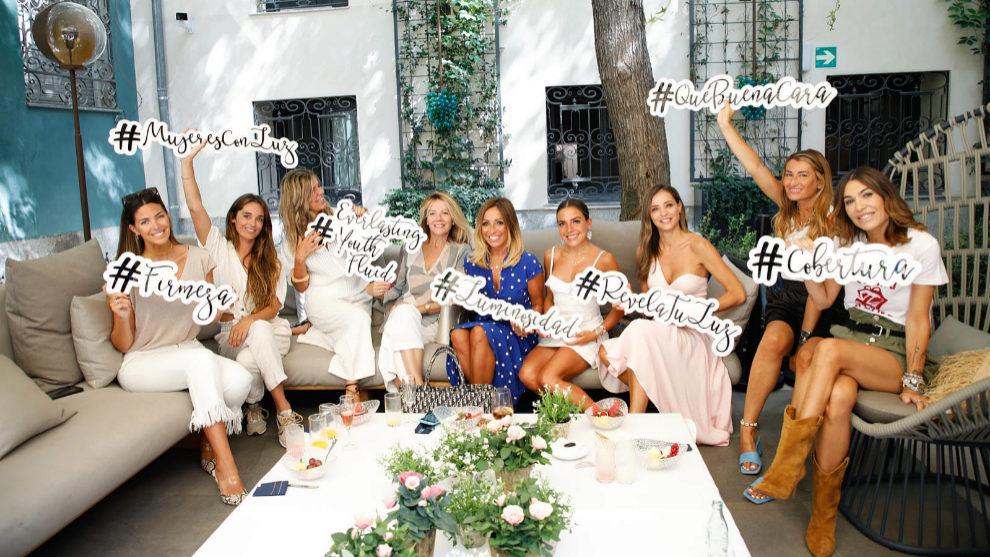 Las influencers Silvia de Benito, María Tilve, Paloma Chimeno, Lola...