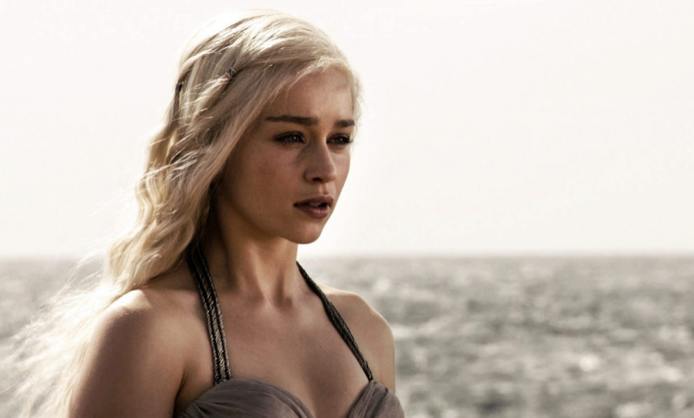 Daenerys Targaryen, interpretada por Emilia Clarke, es la protagonista...