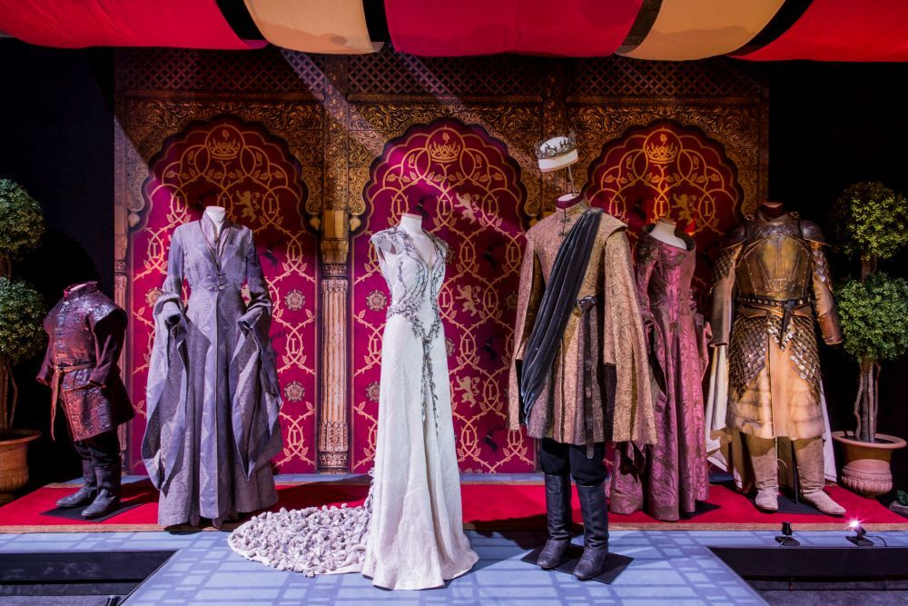Vestuario de Desembarco del Rey.