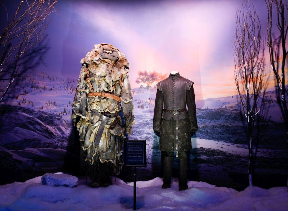 Vestuario original de los personajes Hodor y Bran.