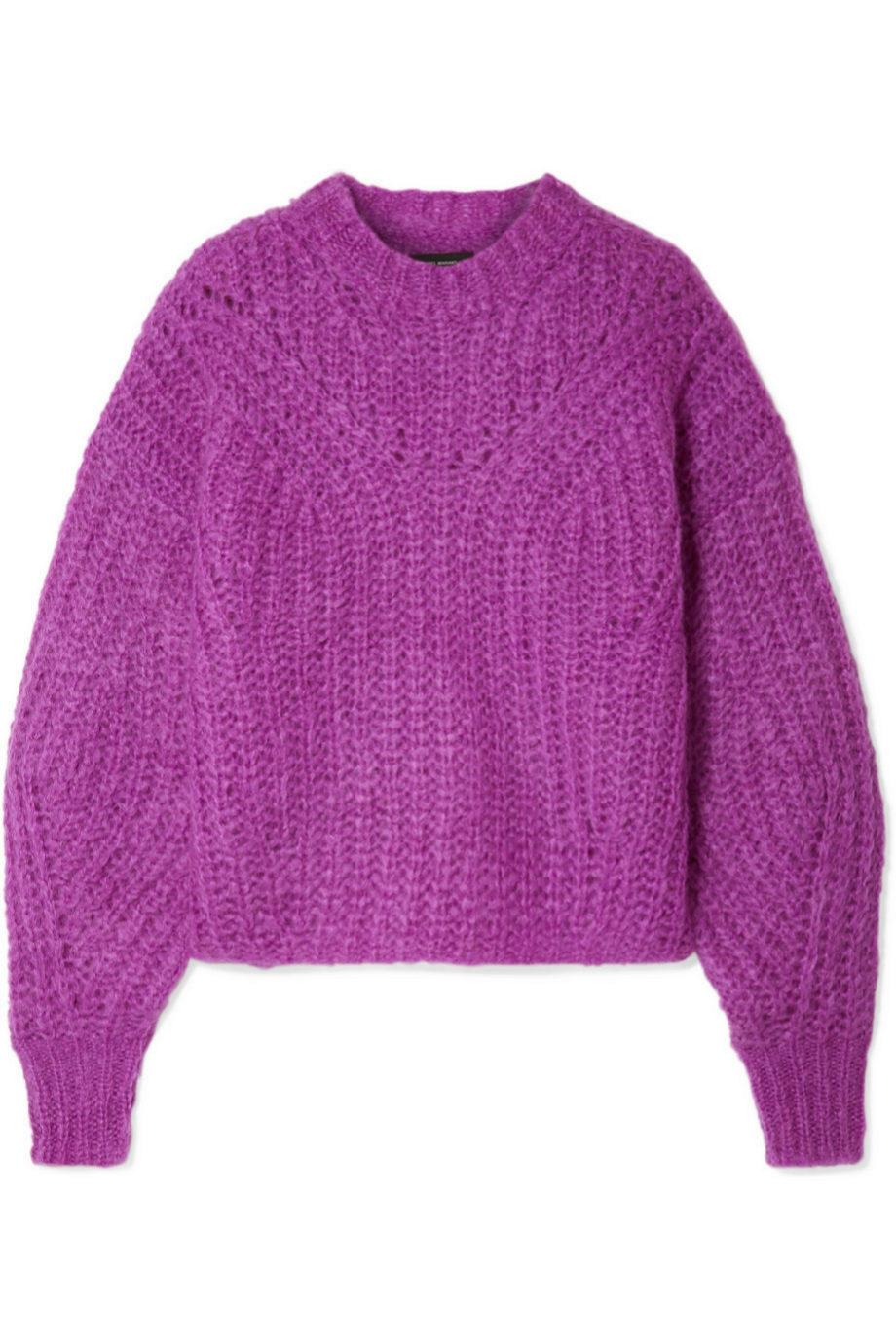 Jersey de cuello redondo de lana de Isabel Marant