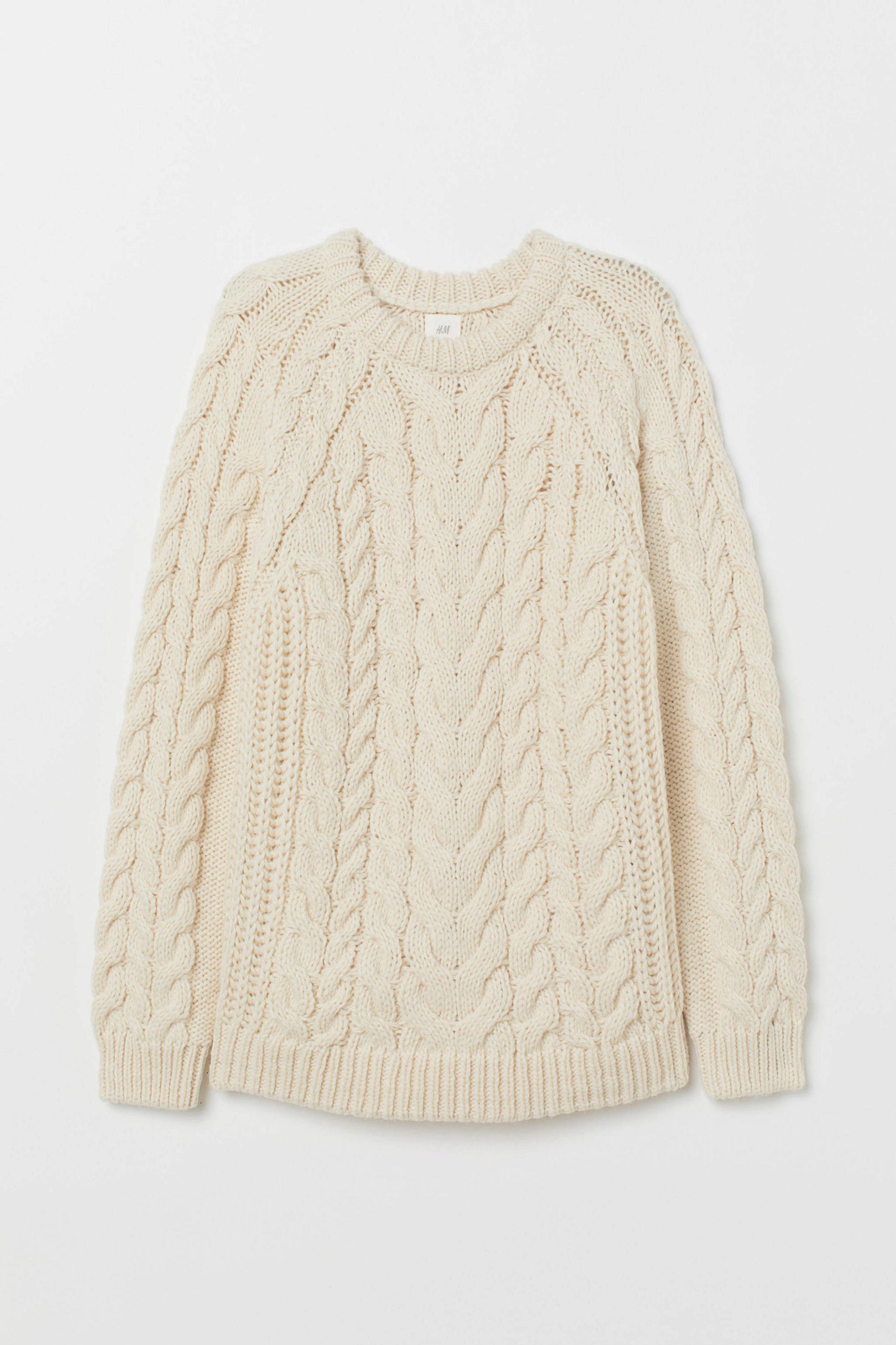 Jersey calado de lana de H&M