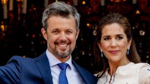 Los príncipes herederos de Dinamarca visitan con amigos la Ribera del...