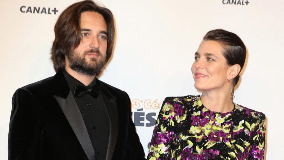 Carlota Casiraghi y su marido, el director de cine Dimitri Rassan.