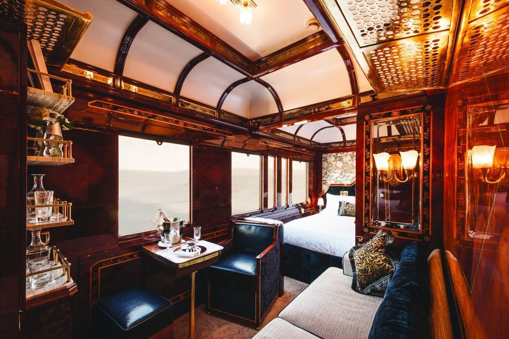 La habitación al más puro estilo años 20