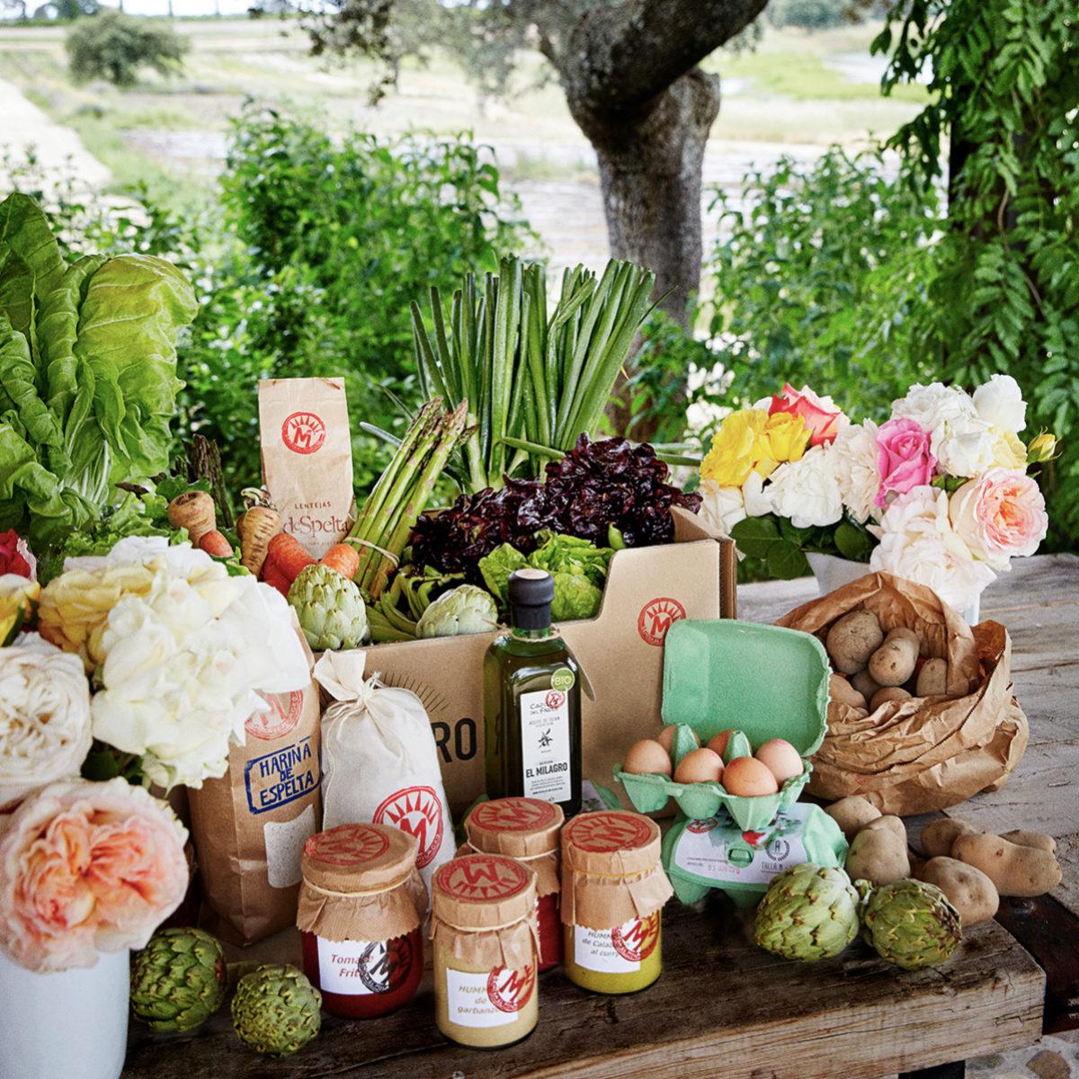 Las frutas y las verduras nos ayudan a tener una piel bonita.