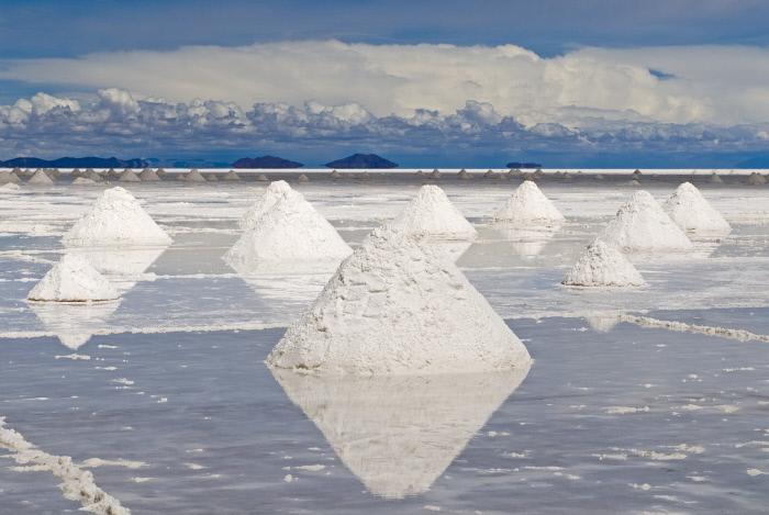 Desierto de Salar de Uyuni, primera parte del Reto Pelayo Vida Andes 2019.