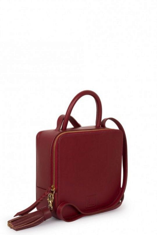 Bolso bandolera modelo 'Square' de Leandra bags