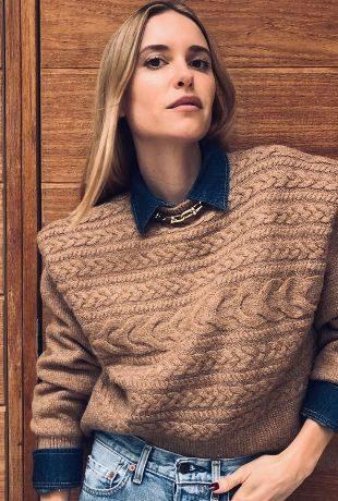 Pernille Teisbaek nos inspira a la hora a llevar jerséis