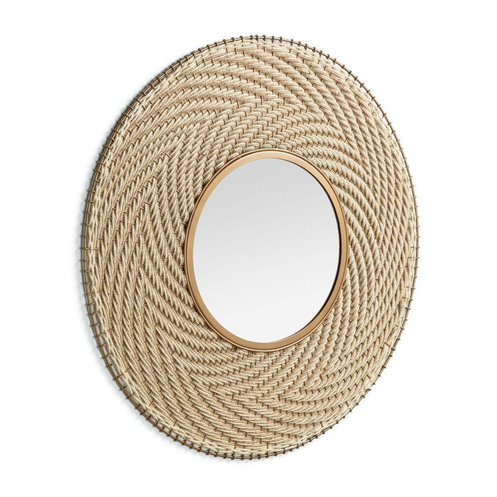 Espejo artesanal de Kave Home