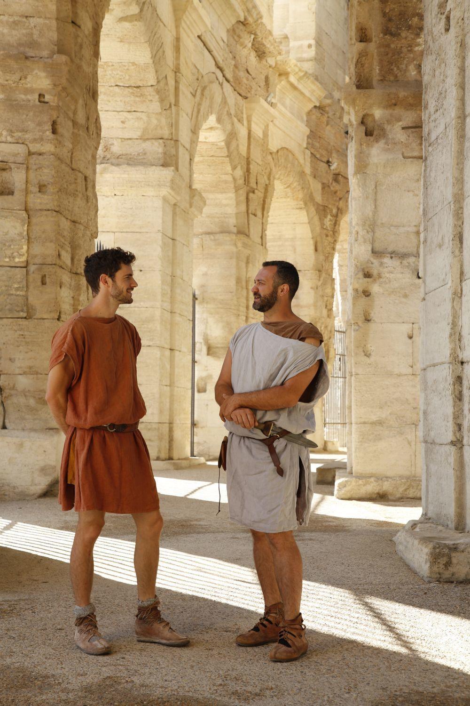 Gladiadores en la Arena de Arles