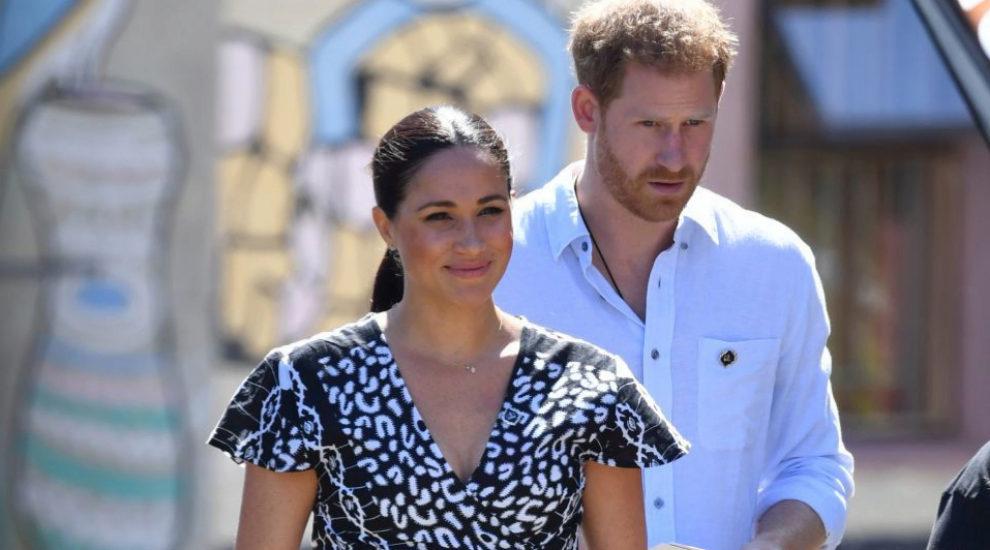 Meghan Markle y el príncipe Harry llegan a Sudáfrica.