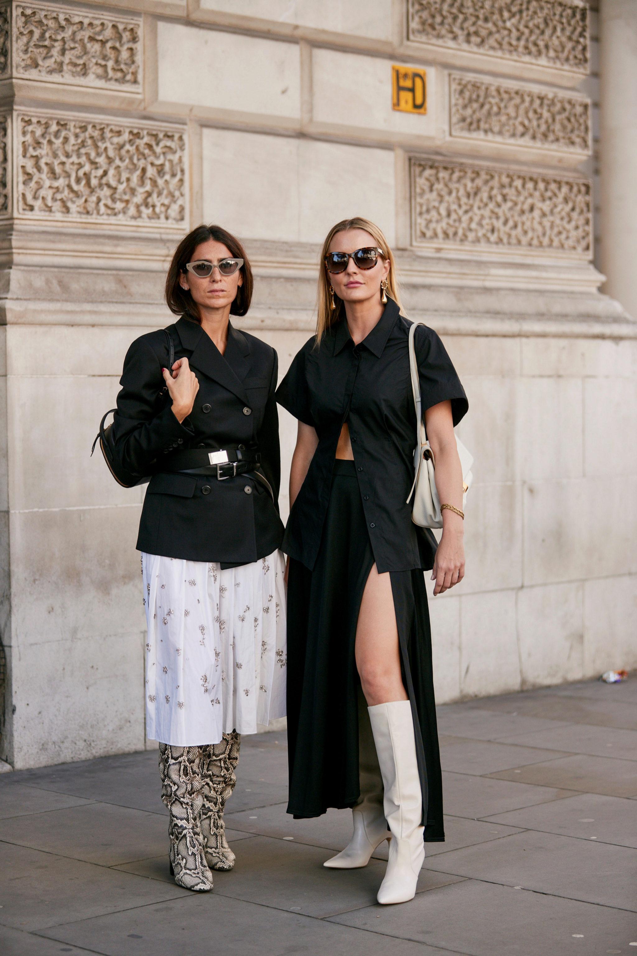 Hemos visto muchas botas altas en las 'fashion weeks'