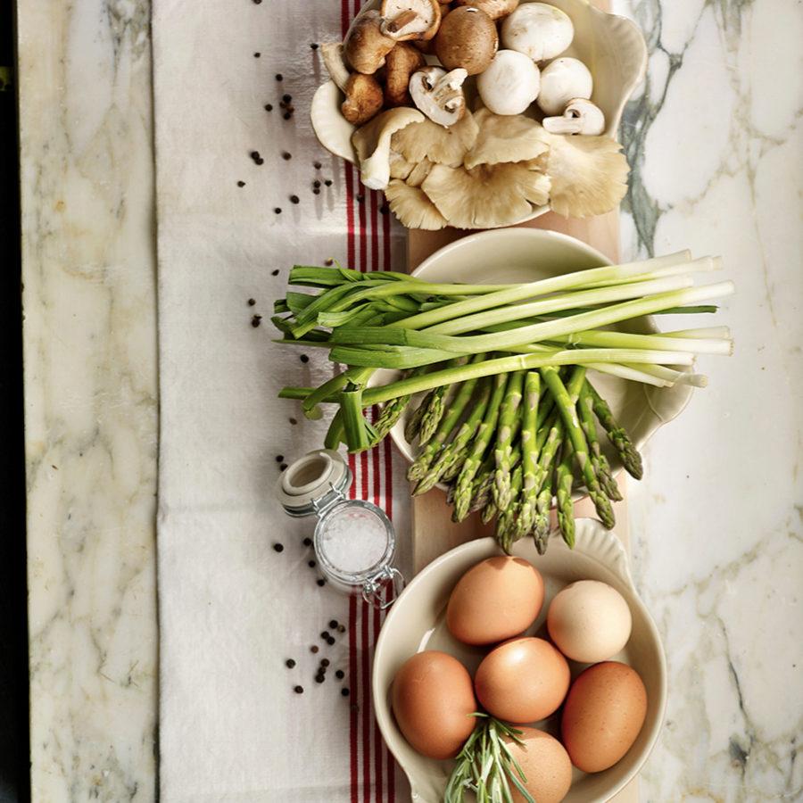 Proteína y verdura es una combinación genial para cenar.