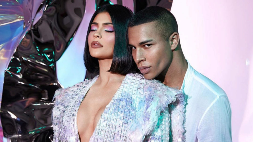 Kylie Jenner y Olivier Rousteing