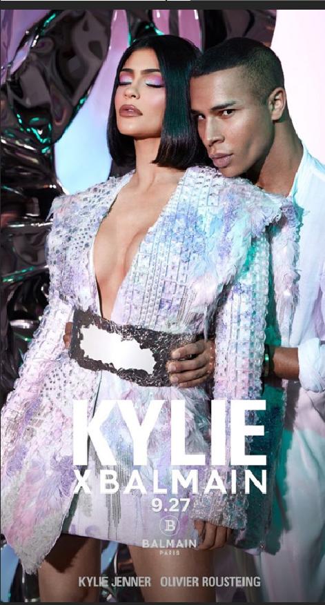 La nueva colección de Kylie Cosmetics y Balmain