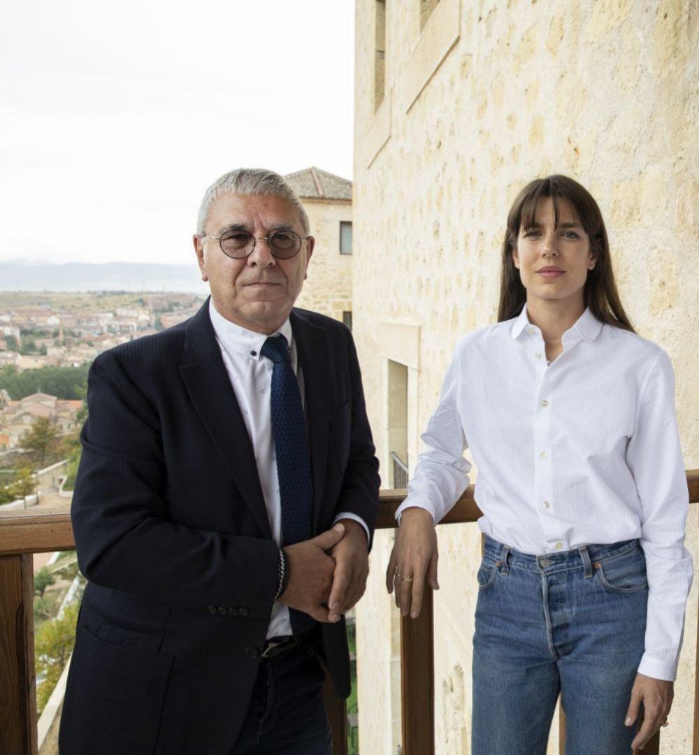 Carlota Casiraghi y Robert Maggiori, autores de Archipiélago de...