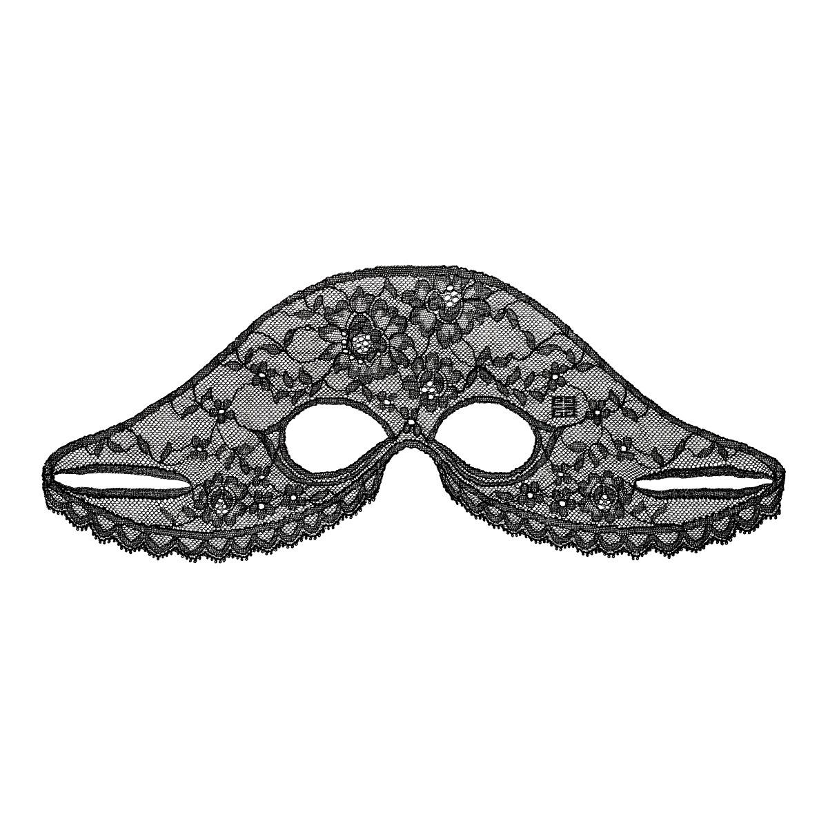 Mascarilla Le Soin Masque Dentelle Regard de Givenchy para el contorno de los ojos y el entrecejo.