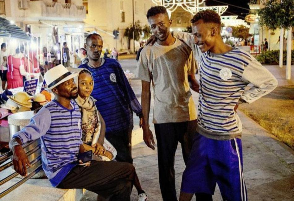 Mohamat, Bakr, Adam, Saad y Abdullah fueron rescatados por el Open...
