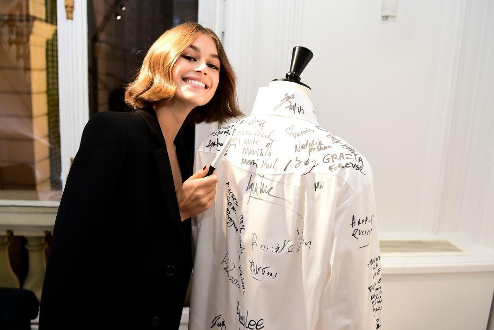 Kaia Gerber, una de las musas de Karl Lagerfeld