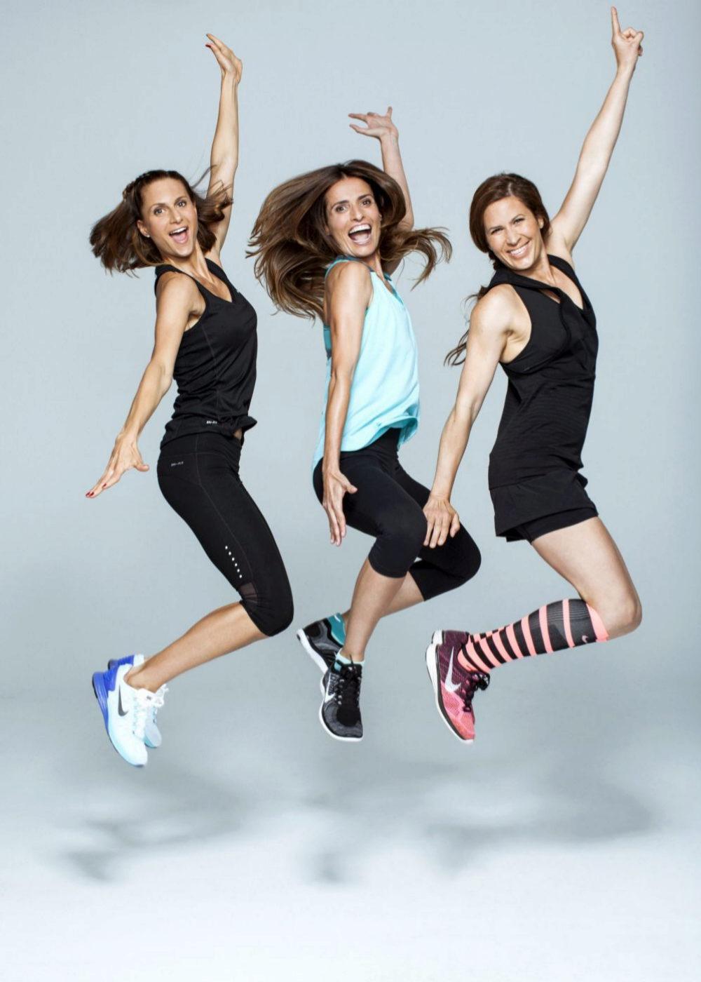 María, Gema y Carolina... derrochan energía y simpatía