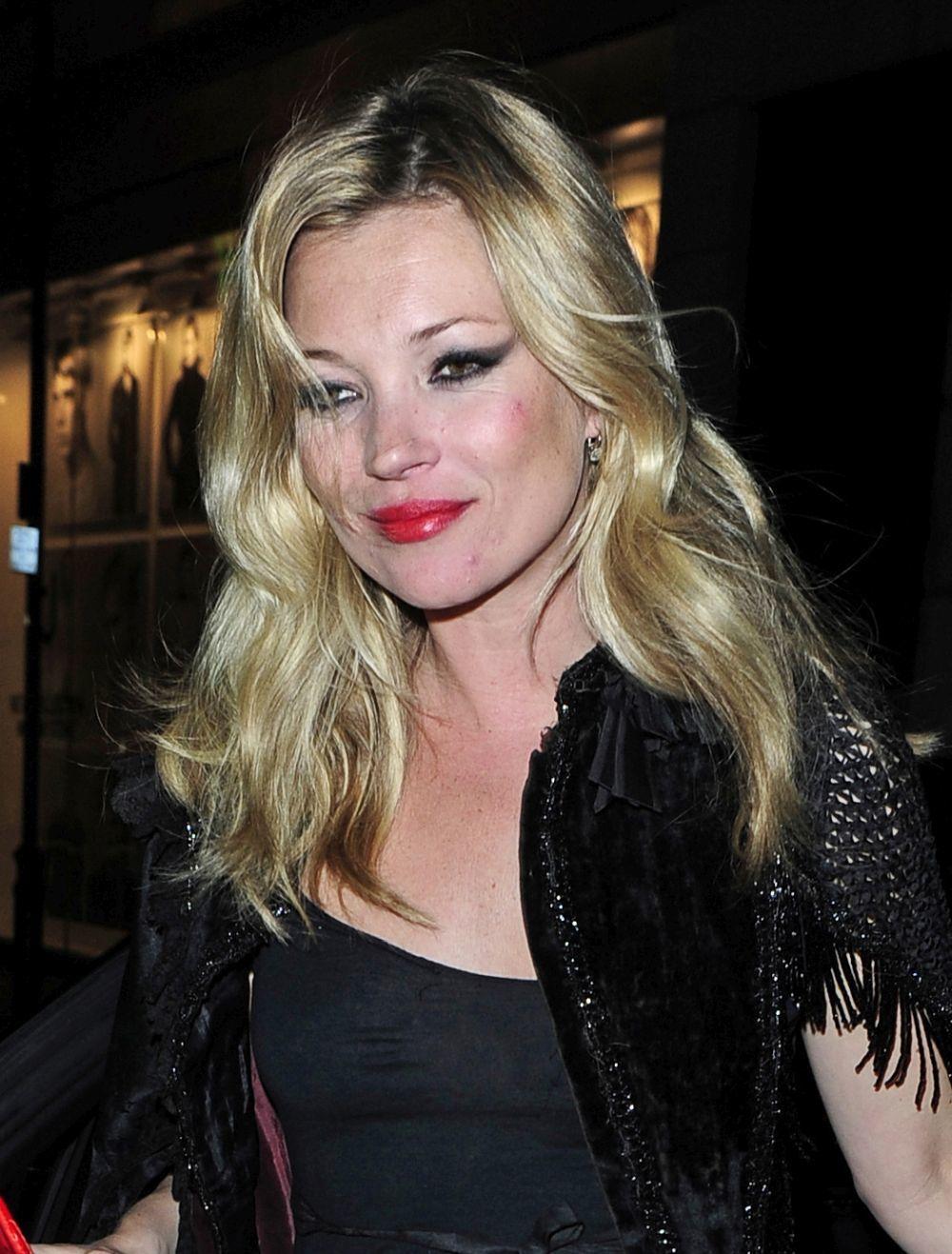 Kate en una de sus salidas por Londres con el mismo maquillaje <em>cat...