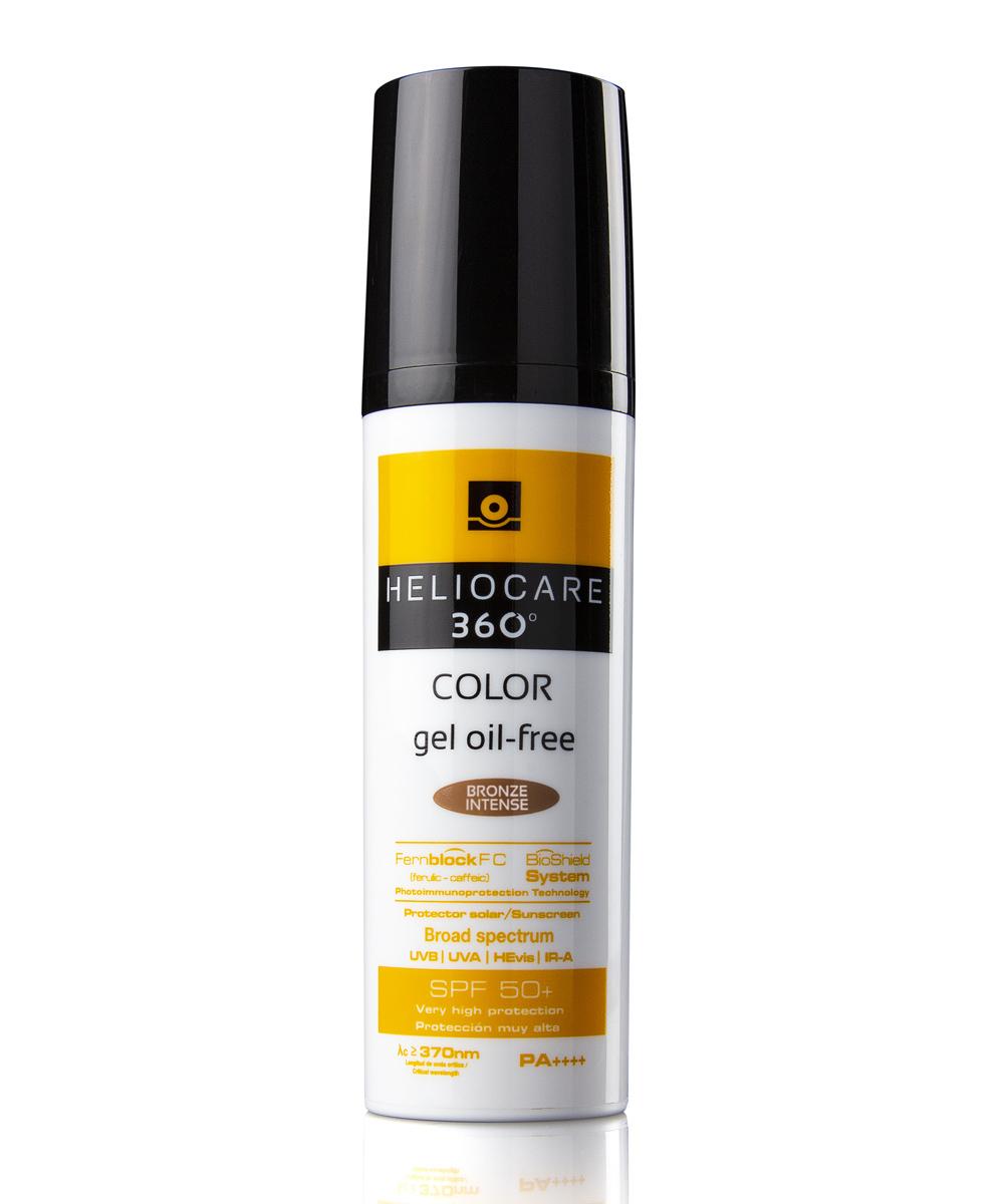 Fotoprotector con color Heliocare 360º Color Gel Oil-Free SPF 50+ (22...