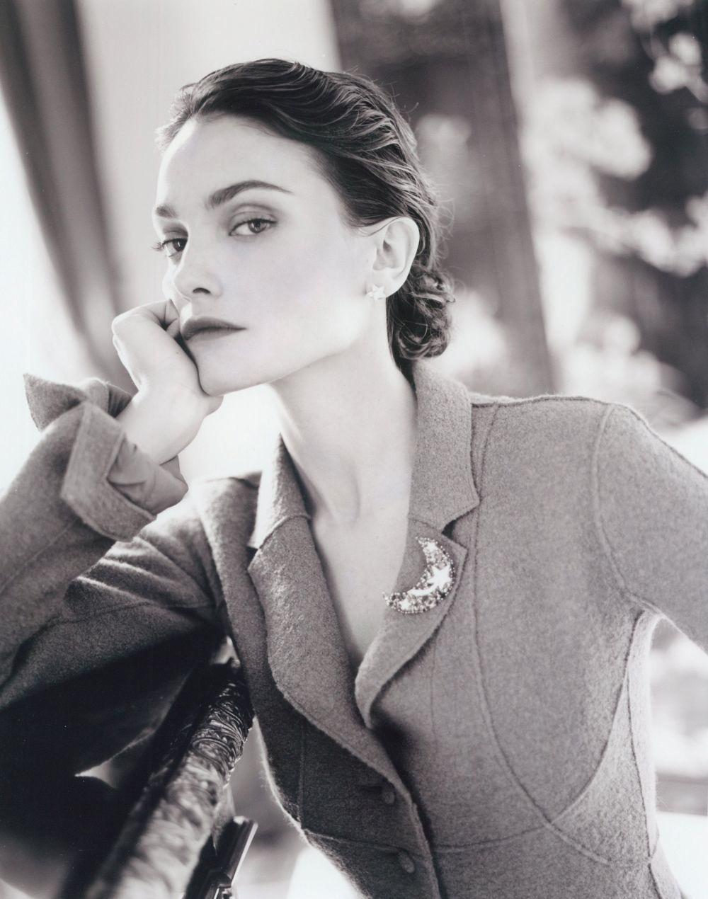 Laura Ponte con blazer Chanel para TELVA.