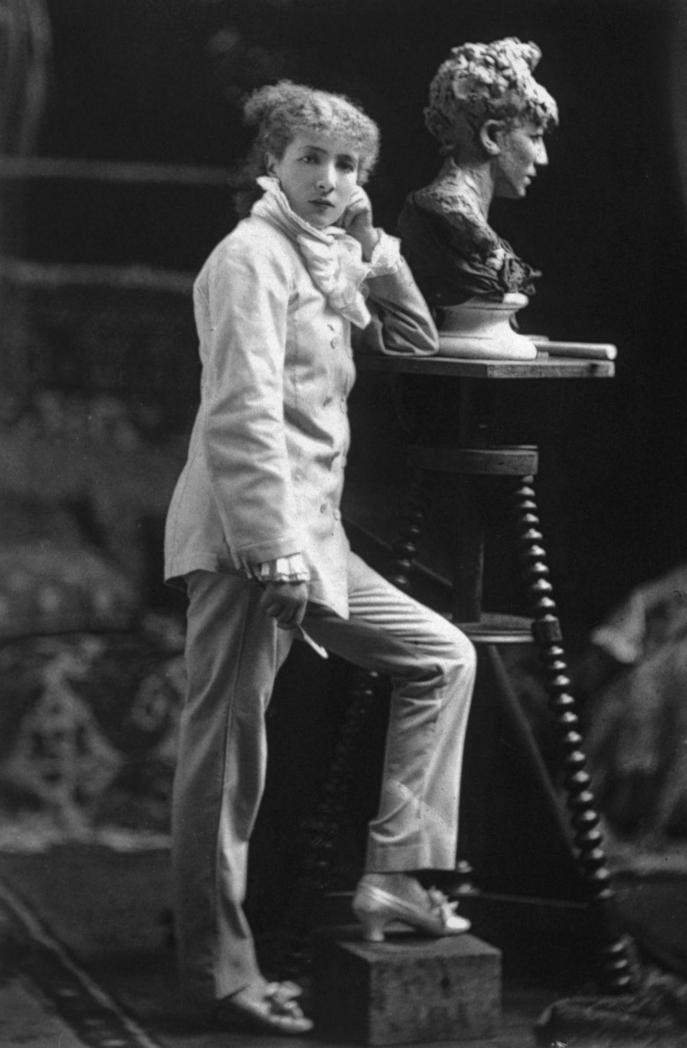 La actriz francesa Sarah Bernhardt