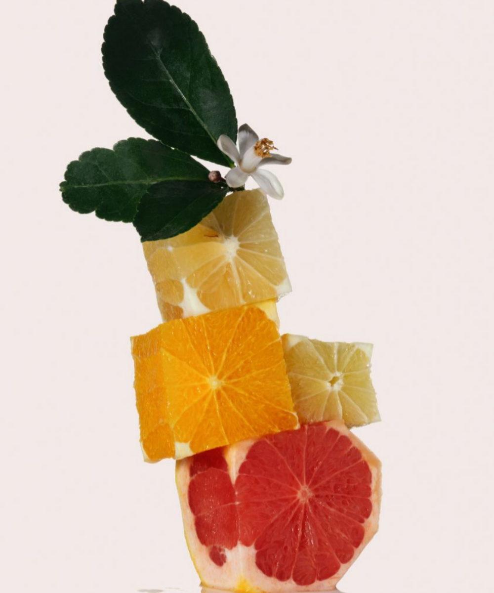 Base aromática de esencia Juicy Citrus, de Scent Creator.