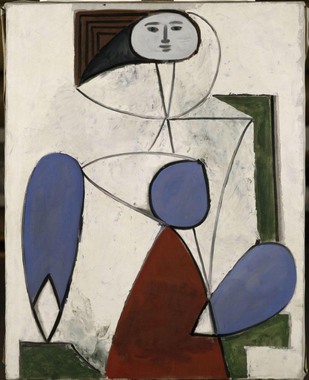 Pablo Picasso, Femme dans un fauteuil, Paris, April 2, 1947