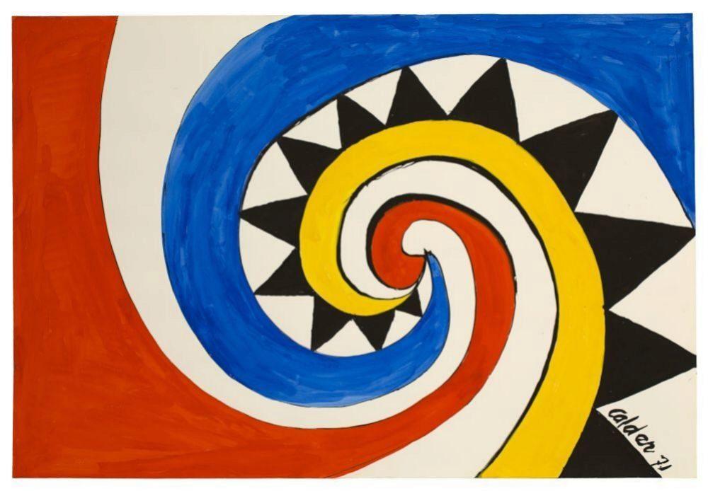 Alexander Calder, Sin título,1971.