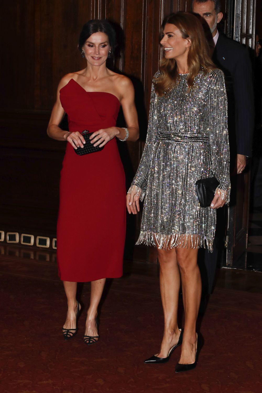 La reina Letizia, junto a Juliana Awada, en Argentina en marzo de 2019.