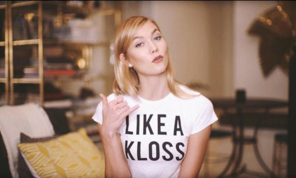 "Karlie Kloss tiene un canal de YouTube, ""Klossy"", con 772.000..."
