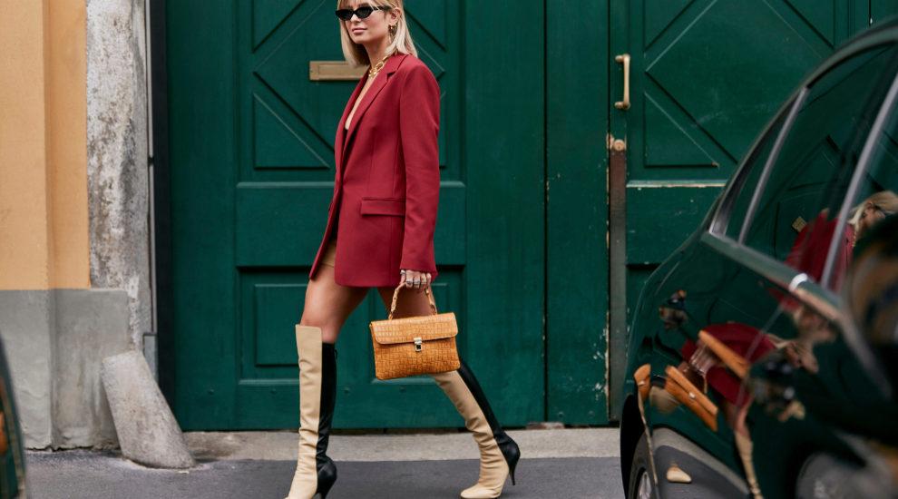En el street style de Milán hemos visto botas y botines muy...