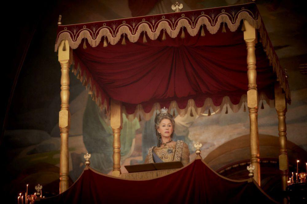 Helen Mirren es Catalina la Grande