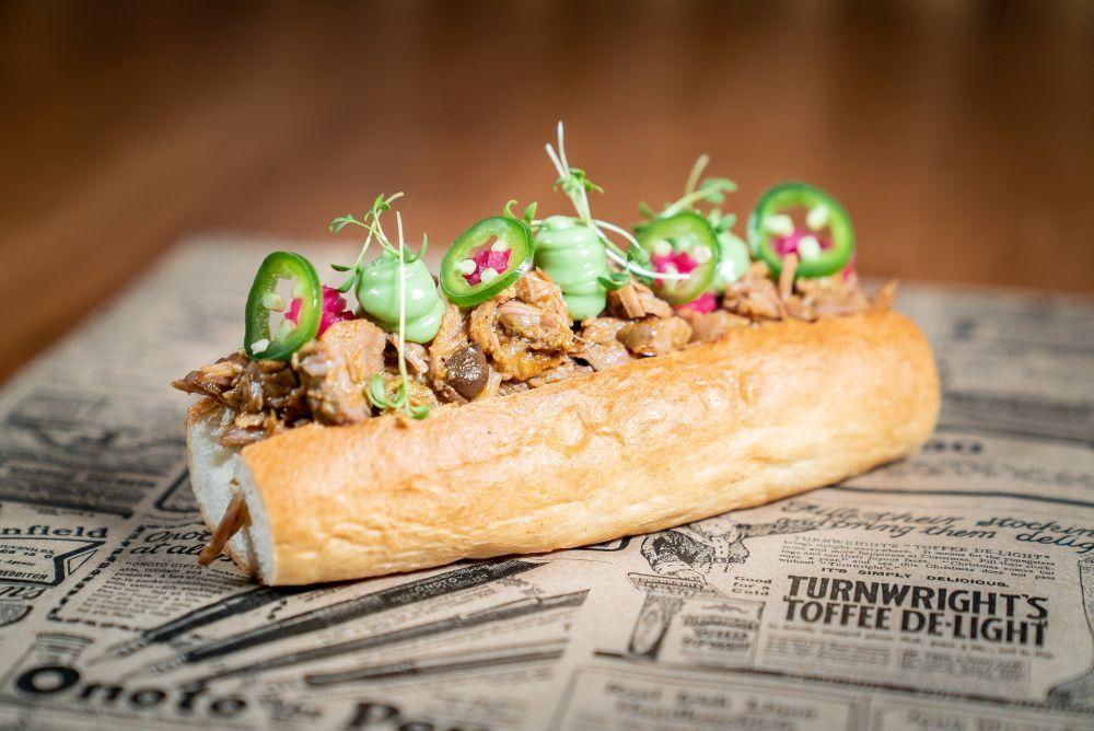 Hot Dog hindú de cordero, de Latasia