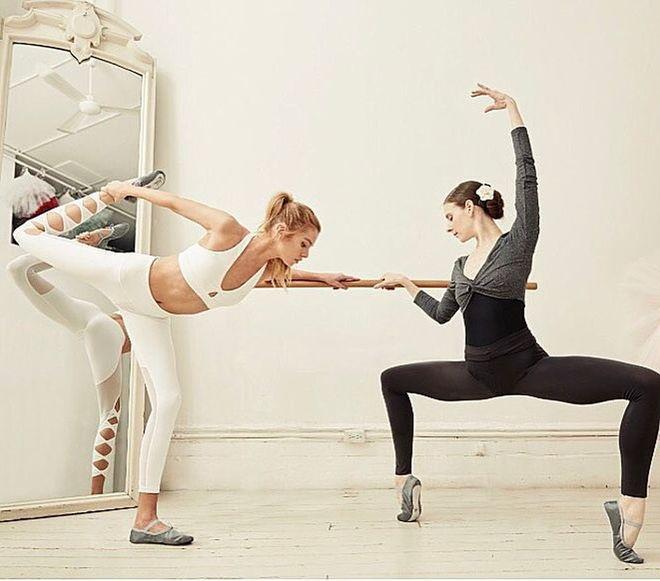 Para practicar Ballet Fit solo necesitas unas mallas, no se requiere...