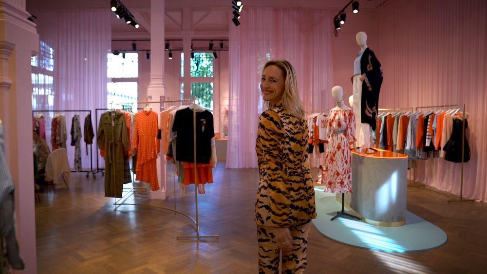Inge Onsea, en el showroom de Essentiel en Amberes
