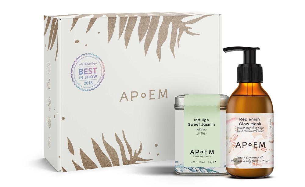 Glow Skin Pack de Apoem (39 euros), incluye una mascarilla...