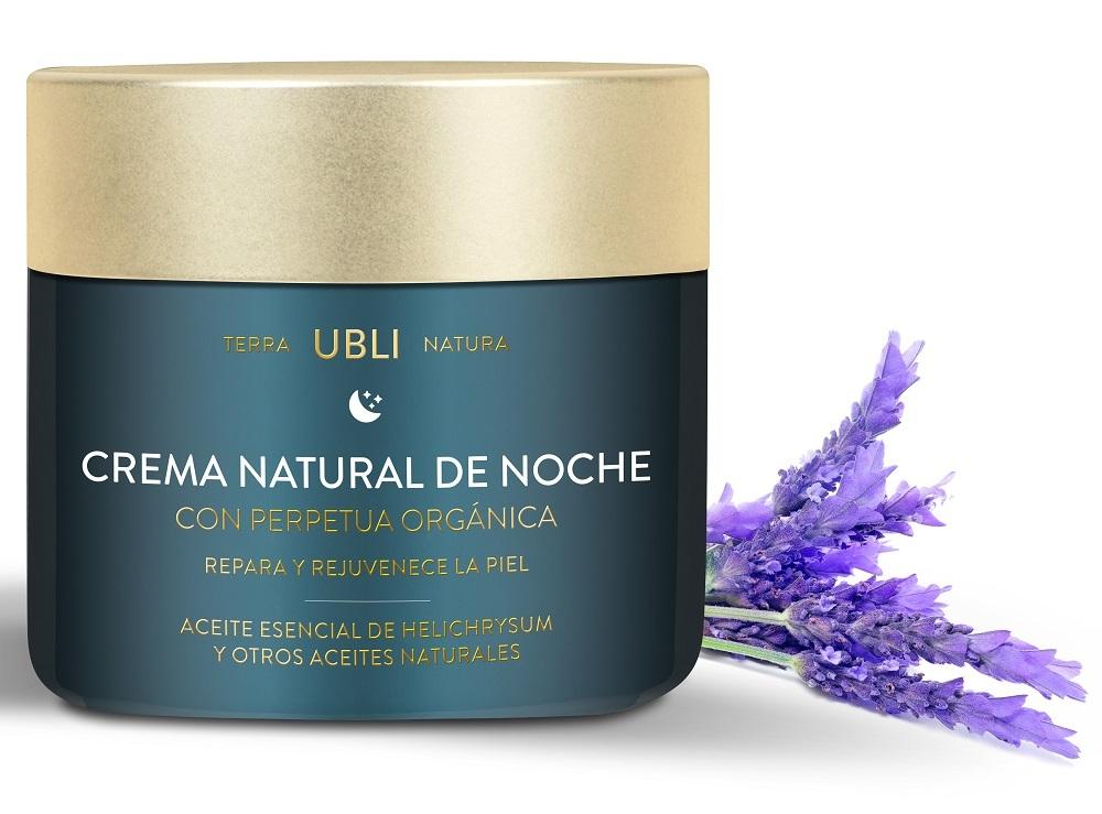 Crema natural de noche Ubli Terra Natura de Ublicosmetics con...