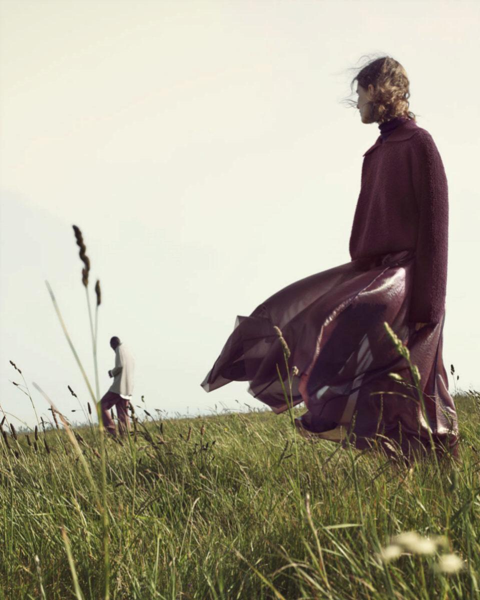 En otoño seguiremos luciendo faldas con vuelo