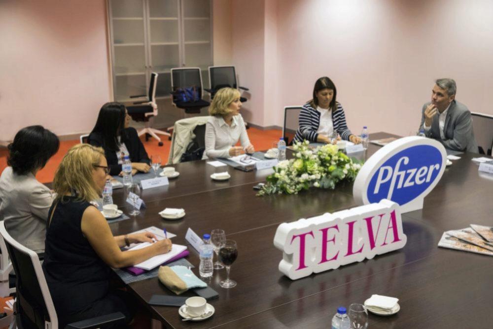 Durante la interesante mesa redonda con oncólogos y pacientes