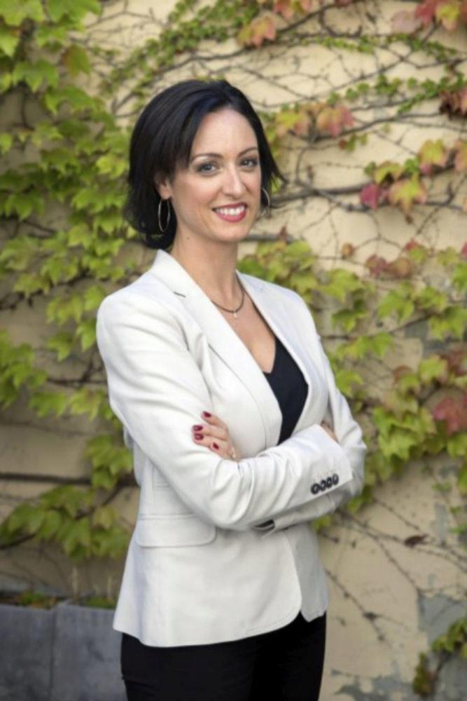 La doctora Virginia Martínez