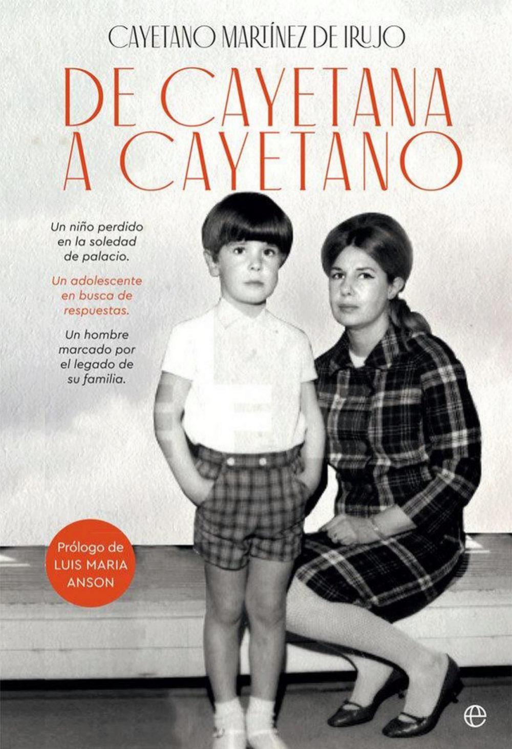 Portada de las memorias de Cayetano editadas por La Esfera de los...