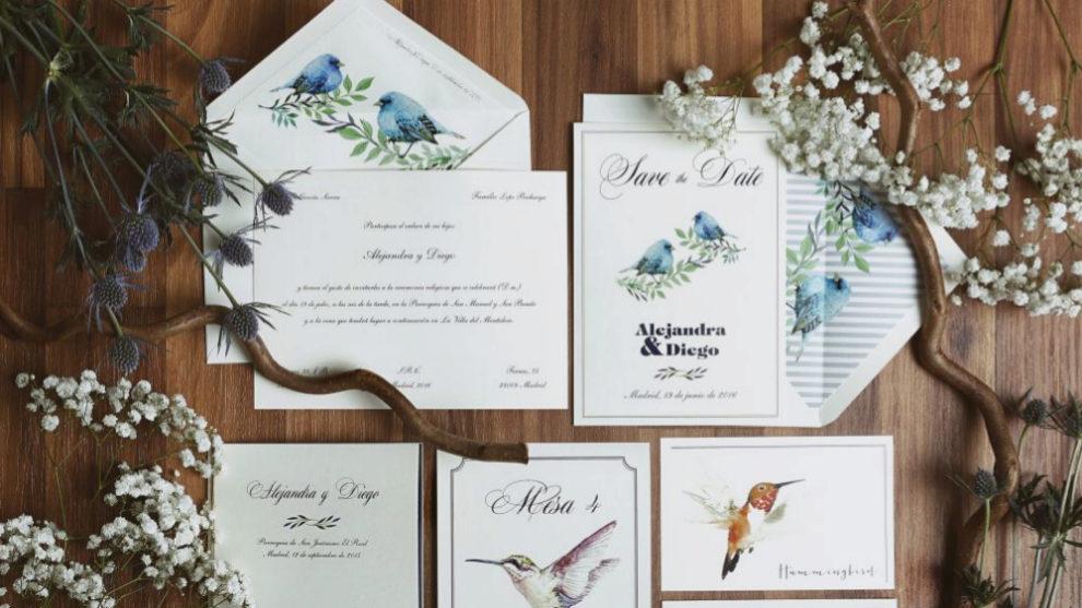 Invitaciones e ilustraciones de Invitarte.