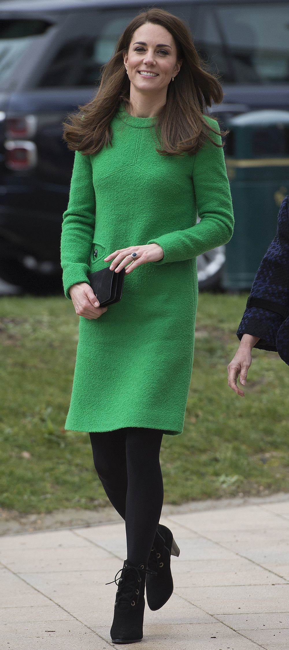 Kate Middleton con botines witch