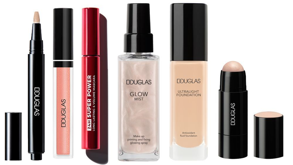 Illuminating Concealer (12,95 euros); Glorious Gloss (9,95 euros);...