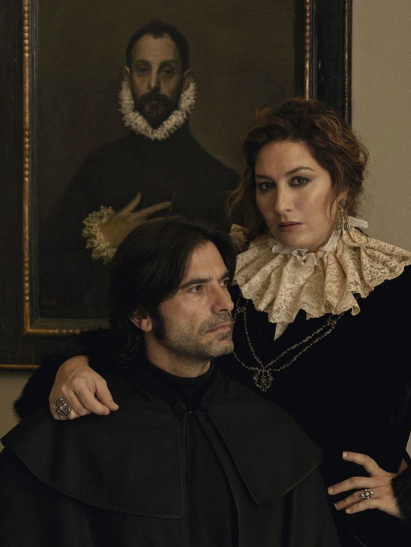 Estrella Morente y Javier Conde en el Museo del Prado